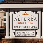 Alterra Rocky Hill Apartments Sign