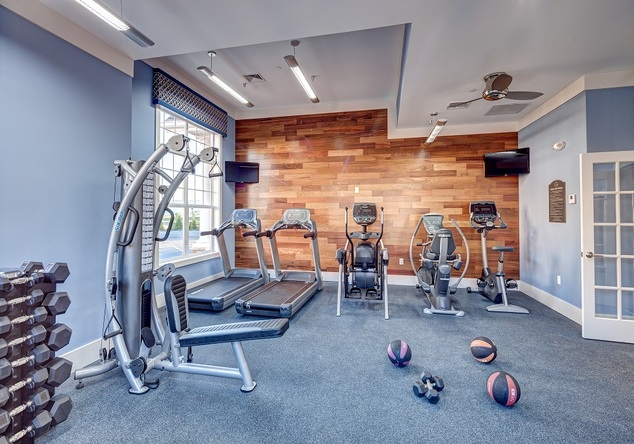 Alterra Rocky Hill Apartments Exercise Room